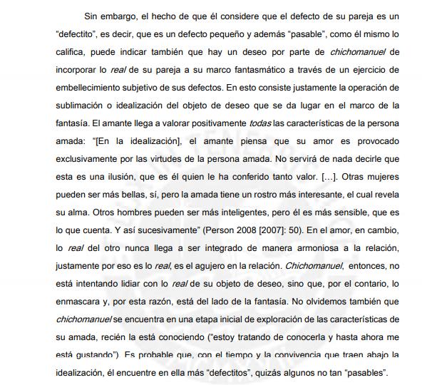 el amor según chichomanuel - Foros Perú